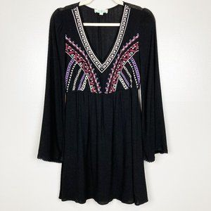 🌺 ALTAR'D STATE • Embroidered Boho Style Dress
